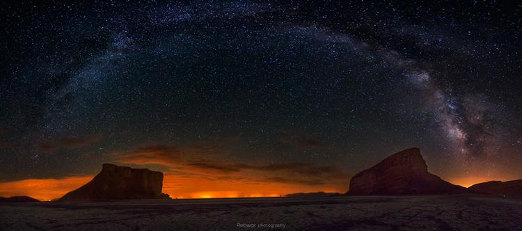 نام: Urmieh-Lake_Milky-Way.jpg نمایش: 267 اندازه: 168.4 کیلو بایت